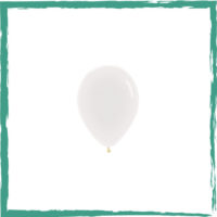 Ballon crystal clear 12 cm