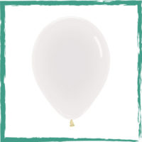 Ballon crystal clear 30 cm